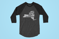New York Drink Beer From Here® - Craft Beer Baseball tee