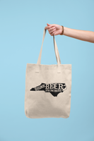 North Carolina Drink Beer From Here® Tote