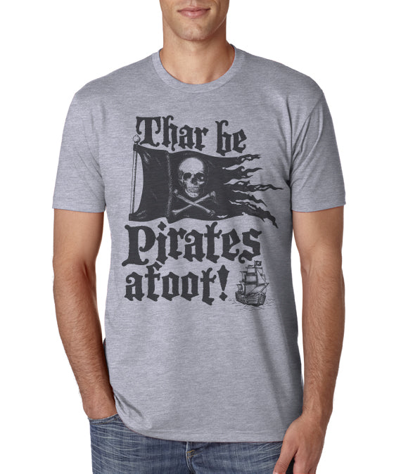 Gasparilla shirt- Thar be pirates afoot men's crew neck