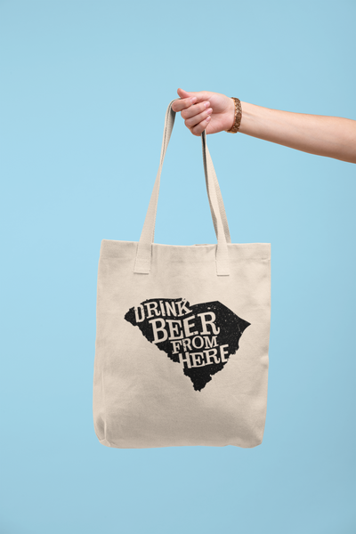 South Carolina Drink Beer From Here® Tote