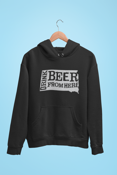 South Dakota Drink Beer From Here® - Craft Beer Hoodie