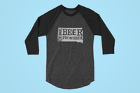 South Dakota Drink Beer From Here® - Craft Beer Baseball tee