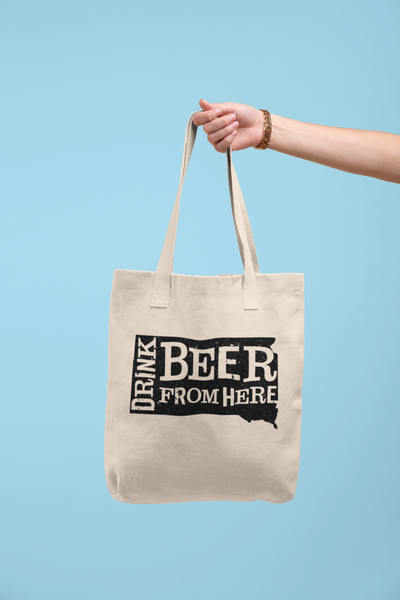 South Dakota Drink Beer From Here® Tote