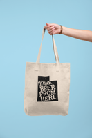 Utah Drink Beer From Here® Tote