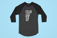 Vermont Drink Beer From Here® - Craft Beer Baseball tee