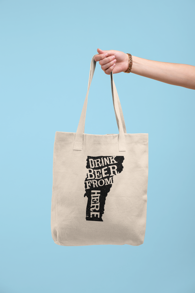 Vermont Drink Beer From Here® Tote