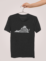 Virginia Drink Beer From Here® - V-Neck Craft Beer shirt