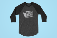 Washington Drink Beer From Here® - Craft Beer Baseball tee