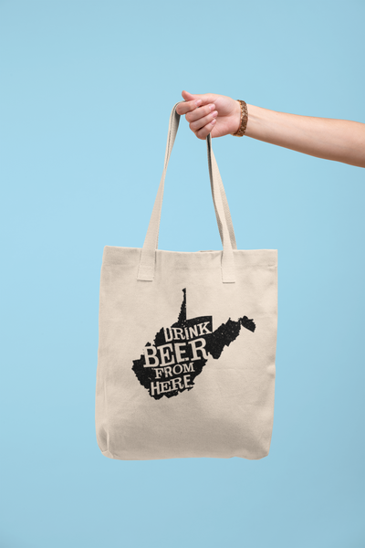 West Virginia Drink Beer From Here® Tote