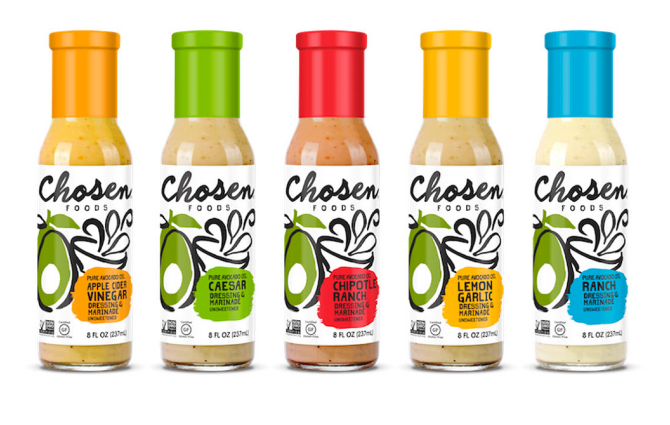 Tasty and Healthy Chosen Foods Dressing & Marinade now available in Hong Kong.