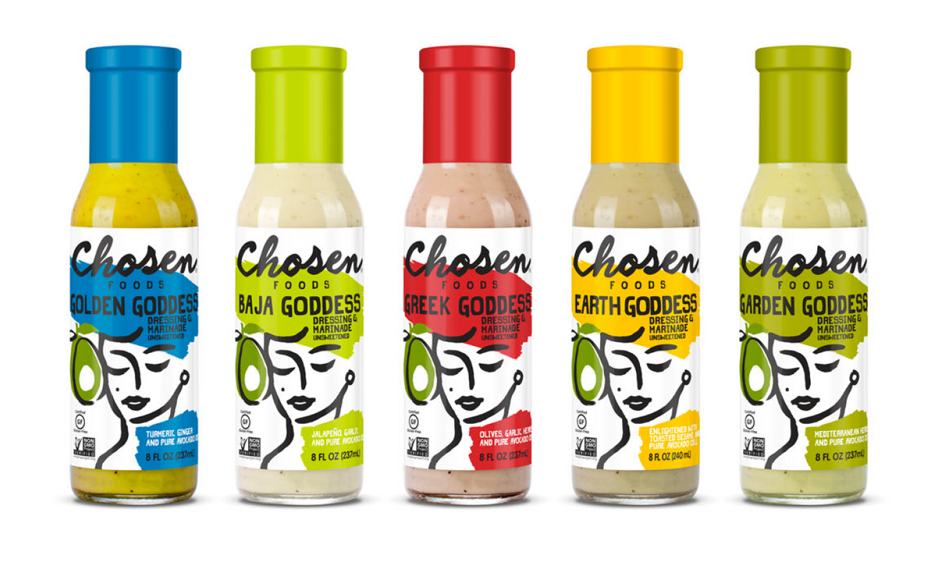 Chosen Foods Goddess Dressing & Marinade now available in Hong Kong.  Mediterranean Inspired !!!
