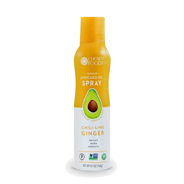 Chosen Foods® CHILLI-LIME GINGER Infused Avocado Oil Spray - (134g Bottle)