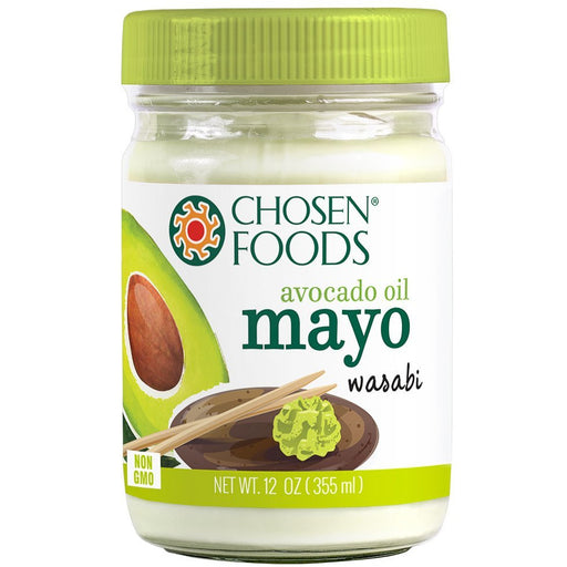 Chosen Foods® Wasabi Mayonnaise (100% Pure Avocado Oil) - 355ml