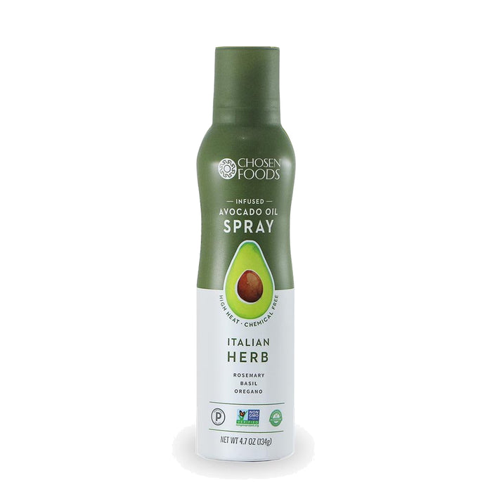 Chosen Foods® ITALIAN HERB Infused Avocado Oil Spray - (134g Bottle)