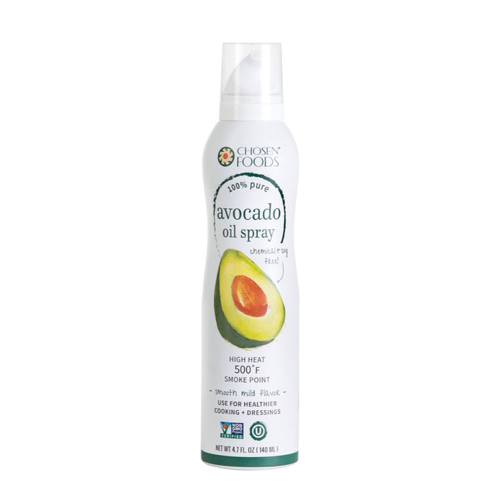 Chosen Foods® ORIGINAL (1 CARTON OF 6 BOTTLES) 100% Pure Avocado Oil Spray - (134g Bottle)