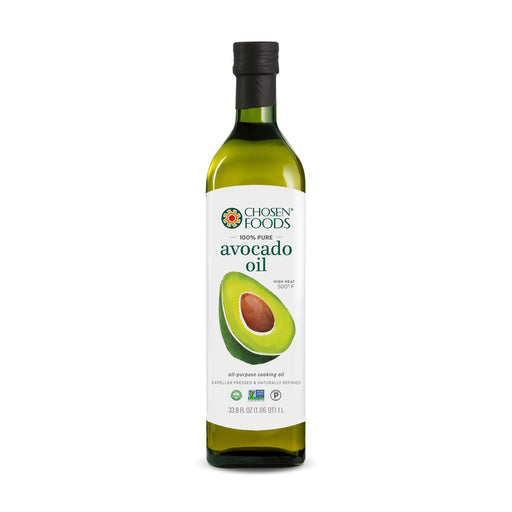 Chosen Foods® 100% Pure Avocado Oil (1L Bottle) - <br> Expiry Date: 12/2021 (mm/yyyy) (Limited Quantity in Stock)