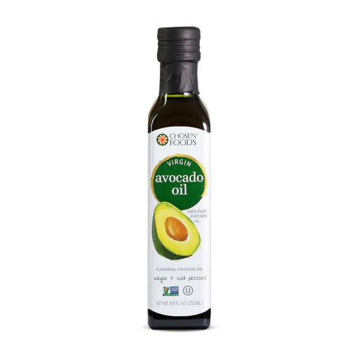 Chosen Foods® Virgin Avocado Oil<br>(250ml Bottle)<br>NOT SUITABLE FOR COOKING