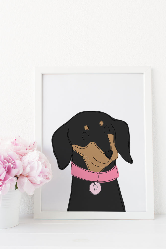 Custom Pet Portrait by Shop Happies