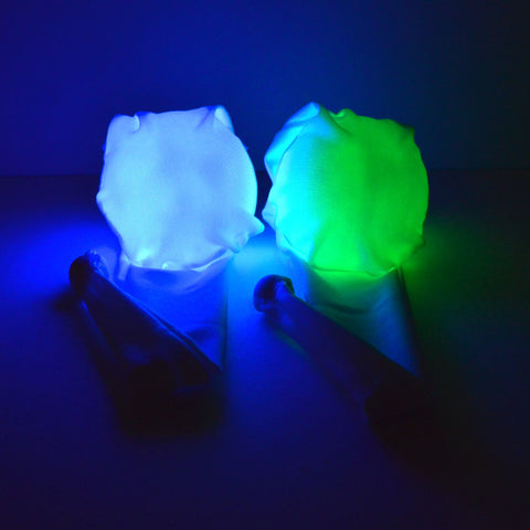 GloFX LED Sock Poi: 9-Mode Weighted - Rave Galore