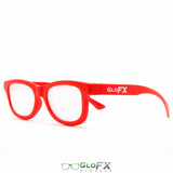 GloFX Standard Diffraction Glasses – Red - Rave Galore
