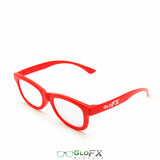 GloFX Standard Diffraction Glasses – Red