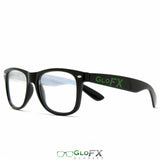 GloFX Ultimate Diffraction Glasses – Black - Rave Galore