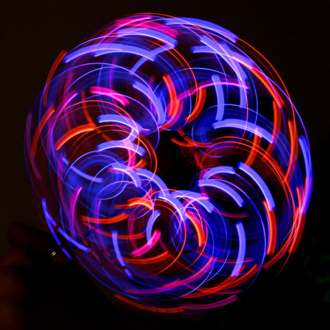 GloFX Team 6-LED Orbit: Violet Storm
