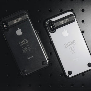 The Hybrid Armour for iPhone XS, iPhone X - Ball Players 客製化訂製 極輕薄防摔金屬支架保護殼 - HOMI CREATIONS - LCW Fashion Ltd.