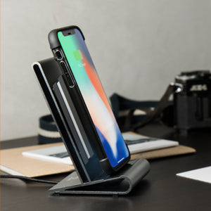 CoreStand 鋁鎂合金 qi 無線充電支架-qi 無線充電支援 iPhone 8, iPhone 8 Plus, iPhone X, iPhone XS, iPhone XS Max, iPhone XR, iPhone 11, iPhone 11 Pro, iPhone SE - HOMI CREATIONS - LCW Fashion Ltd.