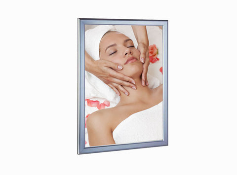 "24x36"" Light Box - Silver (Comes with one backlit film print)"
