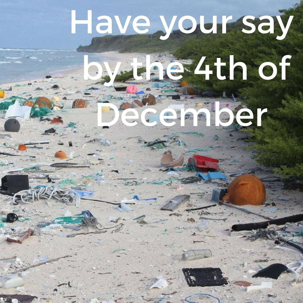 Phase out of single use plastics - have your say now!