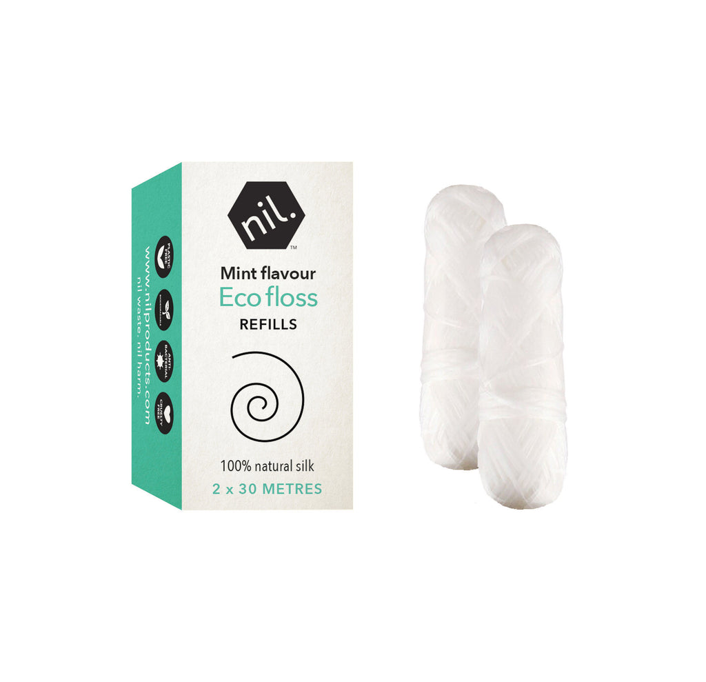 eco tooth floss - bamboo charcoal