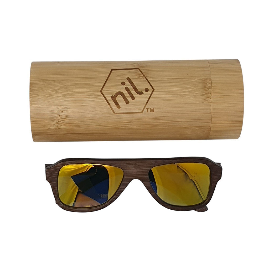 nil wooden sunglasses