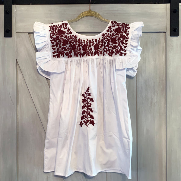 PRE-ORDER: Aggie White Angel Blouse (September)