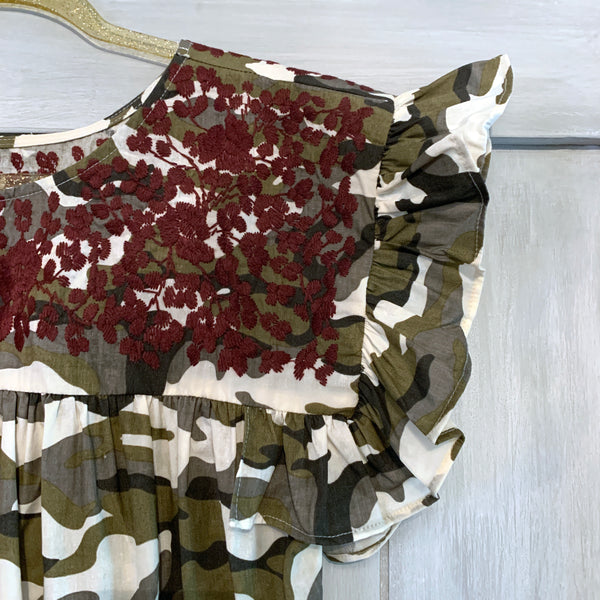 Aggie Camo Angel Blouse (Limited Edition)