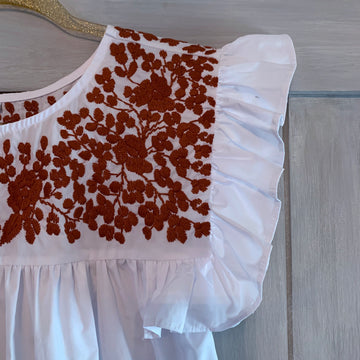 Longhorn White Angel Blouse