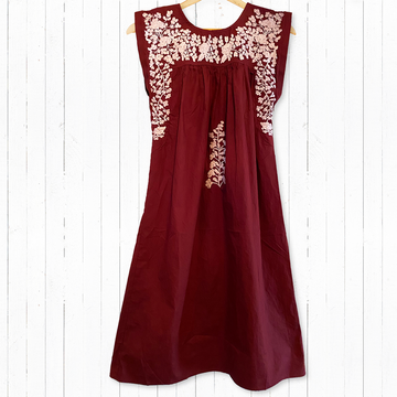 Aggie Maroon Butterfly Midi