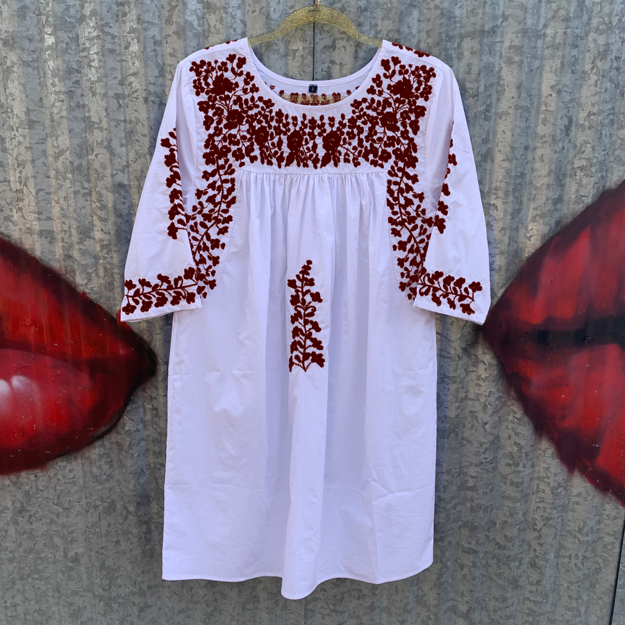 Aggie White Saturday Dress