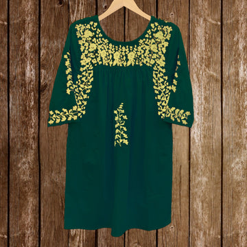 Baylor Green Saturday Dress