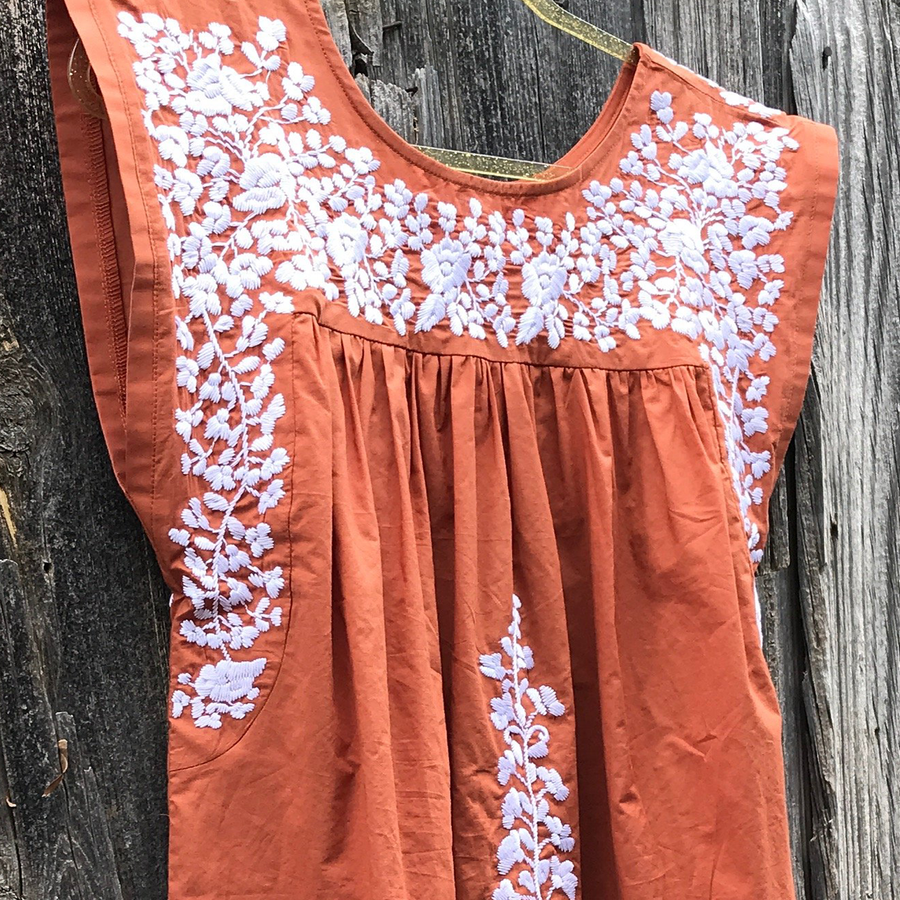 PRE-ORDER: Longhorn Burnt Orange Butterfly Midi