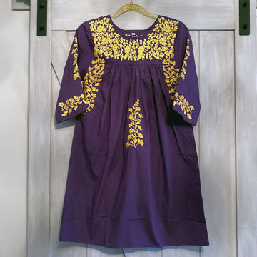 LSU Purple Saturday Dress