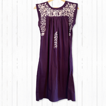 TCU Purple Butterfly Midi
