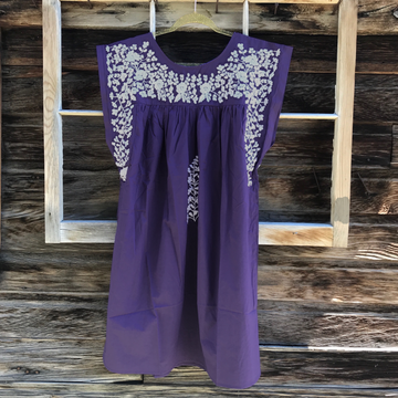 PRE-ORDER: TCU Purple Butterfly Dress (July Delivery)