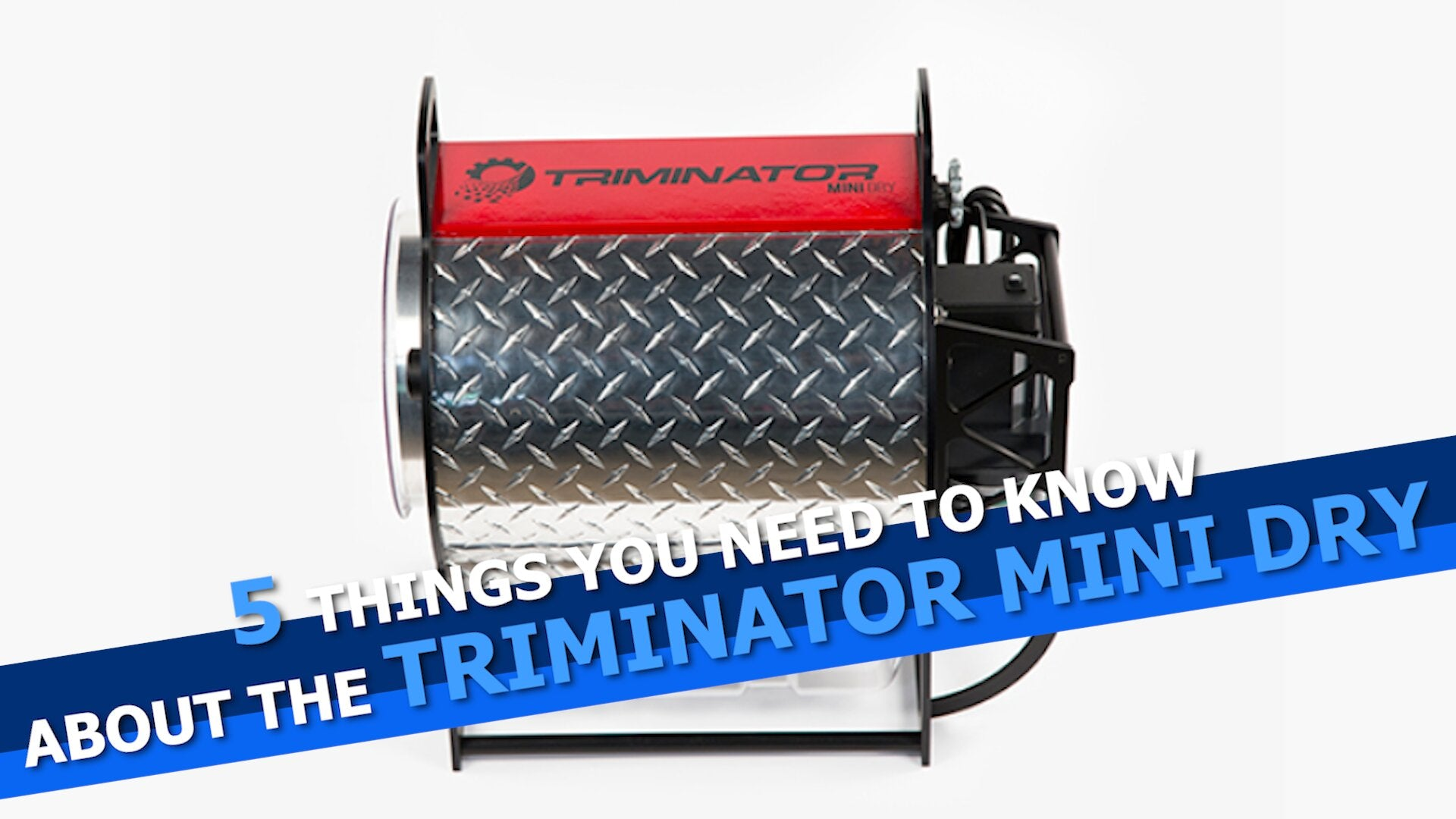 5 Things You Need To Know About The Triminator Mini Dry Bud Trimmer
