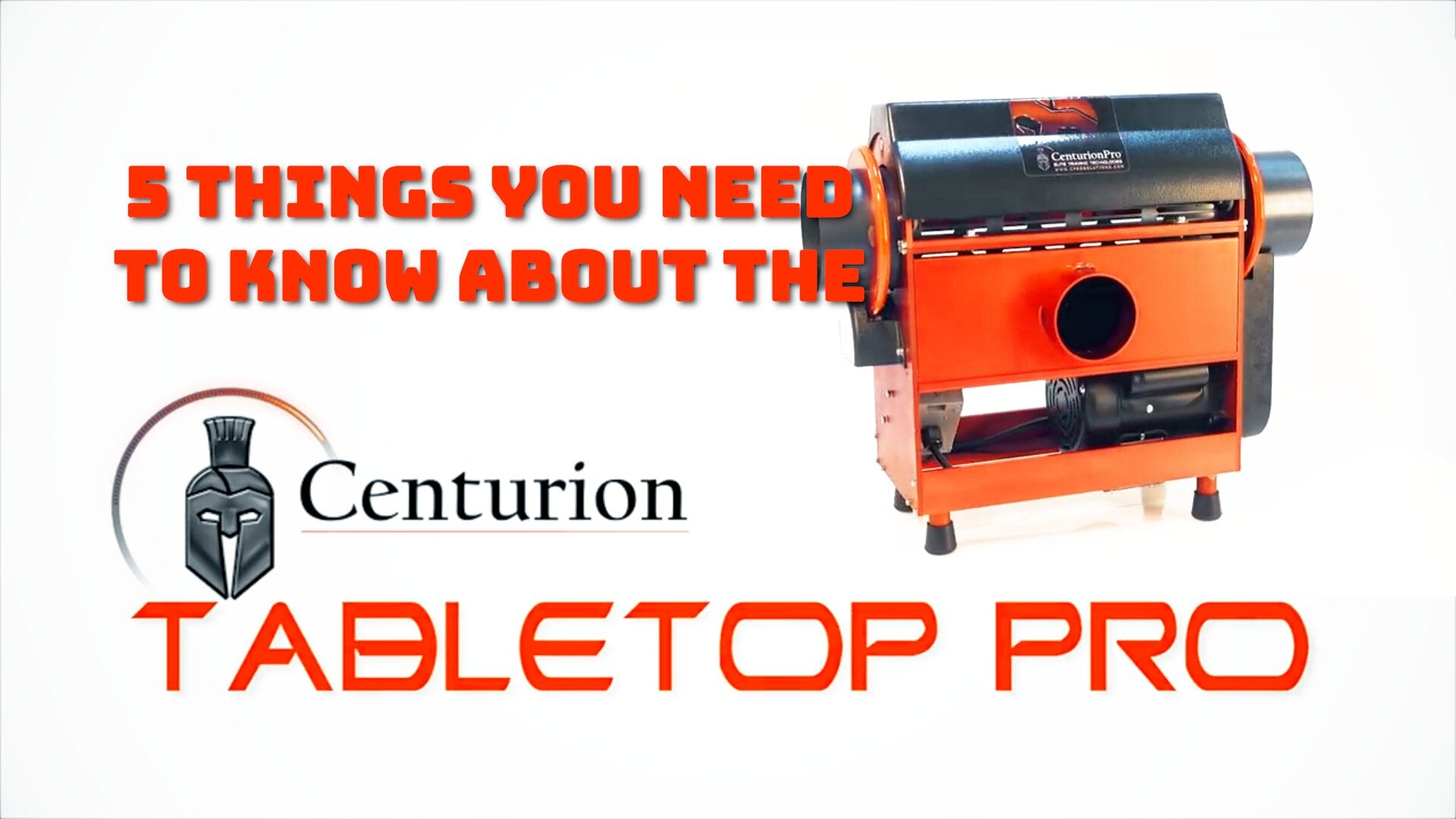 5 Things You Need to Know About the CenturionPro Tabletop Automatic Bud Trimmer
