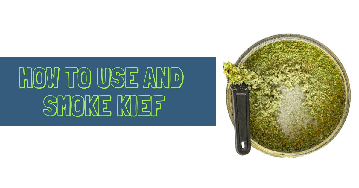 How to Use and Smoke Kief