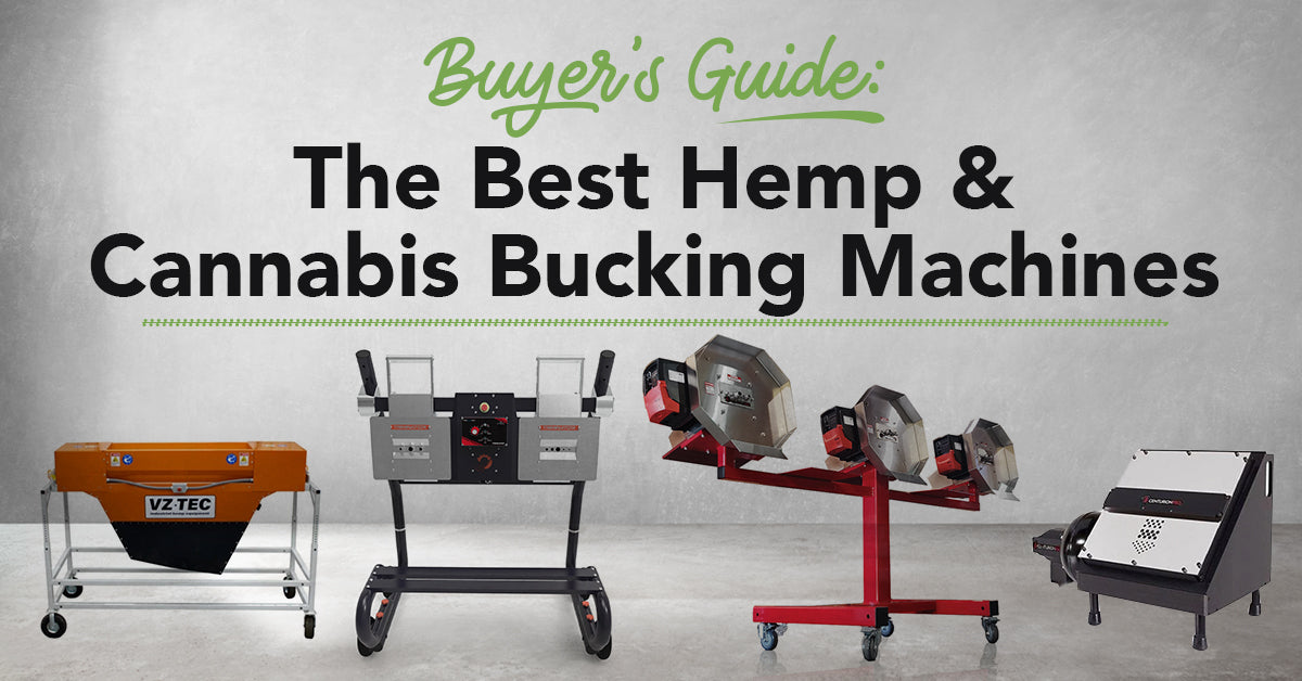 The Best Hemp Buckers - Buyer's Guide to the Best Hemp & Cannabis Debudder Bucking Machines