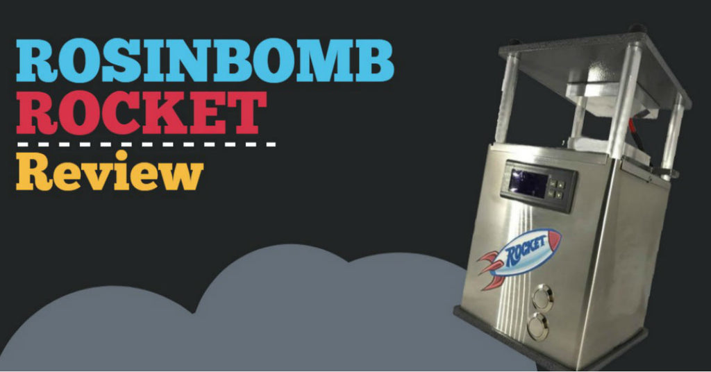 Rosinbomb Rocket Review — Blasting Off the Personal Rosin Press to New Heights