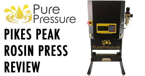 Pikes Peak Rosin Press by Pure Pressure Review