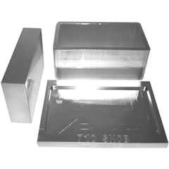 "2.5"" x 4.5"" Rosin Press Aluminum Pre-Press Mold"